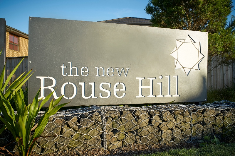 The New Rouse Hill – Large scale residential subdivision