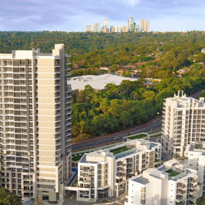 Arise Meriton –  Residential Flat Buildings, Childcare Centre and Retail Outlets